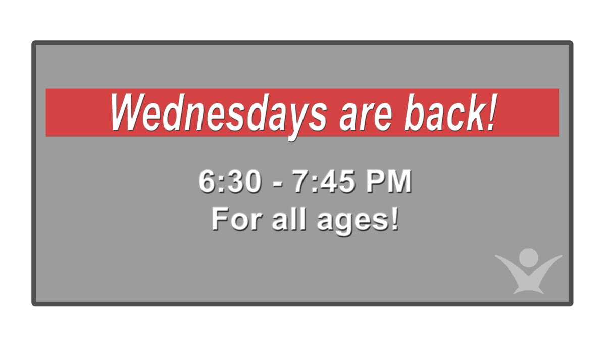 Wednesday Night Activities for All Ages