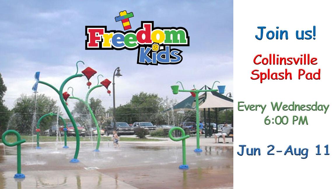 FreedomKids Splash Pad Collinsville
