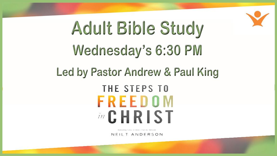 Wednesday Night Adult Bible Study